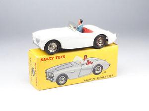 【送料無料】模型車 モデルカー スポーツカー フランスdinky toys france n546 austin healey blanche roues concave boite dorigine