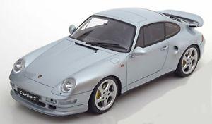 【送料無料】模型車 モデルカー スポーツカー ポルシェターボシルバーイムporsche 911 993 turbo s 1995 silber bl met 1504 lim resin gt spirit zm062 118