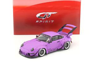 【送料無料】模型車 モデルカー スポーツカー ポルシェソフトウェアライセンスロタナマットバイオレットグアテマラporsche 911 993 rwb rotana matt violett 118 gtspirit