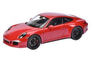 【送料無料】模型車 モデルカー スポーツカー ポルシェカレーペカルミンschuco 00390 118 porsche 911 carrera gts coupe karminrot neu