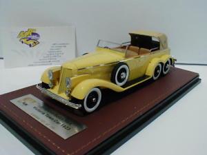 【送料無料】模型車 モデルカー スポーツカー ビクトリアバージョンglm 43215001 hispano suiza h6a victoria town car closed version bj1923 143