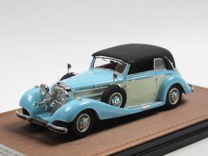 【送料無料】模型車 モデルカー スポーツカー メルセデスベンツカブリオレクローズglm 205303 1937 mercedesbenz 540k cabriolet b geschlossen 143