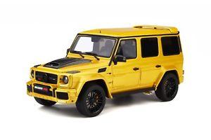 【送料無料】模型車 モデルカー スポーツカー メルセデスベンツモデルmercedes benz g modell amg g 63 brabus 850 60 gelb gt spirit neu 118