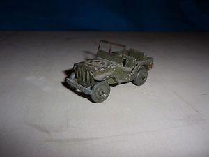 【送料無料】模型車 モデルカー スポーツカー フランスジープdinky toys france de 1946 ancien trs rare jeep 24 m roue metal