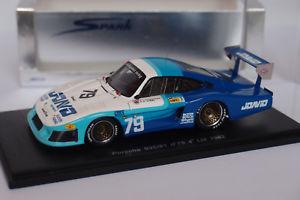 【送料無料】模型車 モデルカー スポーツカー スパークポルシェ#ルマンspark porsche 93581 79 le mans 1982 143