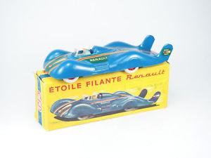 【送料無料】模型車 モデルカー スポーツカー ルノーエトワールフランスcij ref 32 renault toile filante 143e france boite dorigine