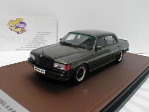 【送料無料】模型車 モデルカー スポーツカー メルセデスベンツブラウンメタリックglm 206001 mercedes benz amg w116 69 baujahr 1988 braunmetallic 143 neu