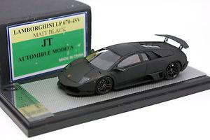 【送料無料】模型車 モデルカー スポーツカー モデルランボルギーニマットブラック