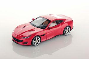 【送料無料】模型車 モデルカー スポーツカー ポルトフィーノフェラーリロッソコルサスマートferrari portofino rosso corsa 143 ls480e looksmart
