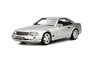 【送料無料】模型車 モデルカー スポーツカー メルセデスベンツシルバーオットーmercedes benz sl cabrio silber sl73 amg r129 ot240 otto rar neu 118