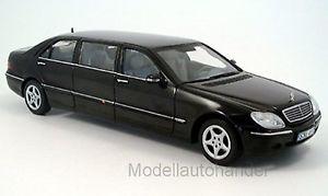 【送料無料】模型車 モデルカー スポーツカー メルセデスクラスサンスターmercedes sklasse pullman 2000 schwarz 118 sunstar 4111 neu