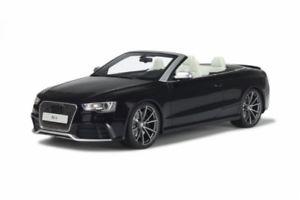 【送料無料】模型車 モデルカー スポーツカー グアテマラアウディカブリオレgt spirit 093 audi rs5 cabriolet schwarz 118 limited 11500