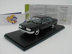 【送料無料】模型車 モデルカー スポーツカー プロトタイプカータトラカルトサロンautocult 06023 tatra 603a prototyp limousine baujahr 1961 schwarz 143 neu