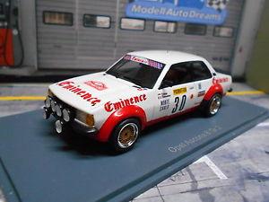 【送料無料】模型車 モデルカー スポーツカー オペルアスコナモンテカルロラリー#opel ascona b 2000 gr2 rallye monte carlo 1982 30 tchine eminence umbau 143