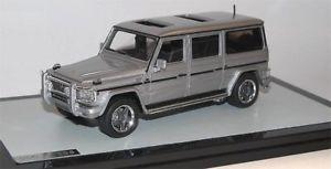 【送料無料】模型車 モデルカー スポーツカー メルセデスベンツシルバーメタリックglm 2002 amg mercedesbenz w463 g63 lang silber metalic 143 limited edition