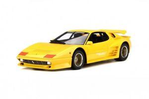 【送料無料】模型車 モデルカー スポーツカー スペシャルフェラーリターボチューニングferrari koenig specials 512 bb bbi turbo tuning gelb yell neu gt spirit 118