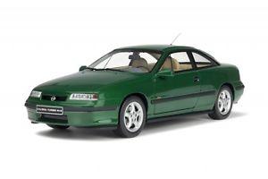 【送料無料】模型車 モデルカー スポーツカー オペルクーペターボ×グリーングリーンオットーopel calibra coupe turbo 4x4 1996 green grn limit 1500 ot651 resin otto 118