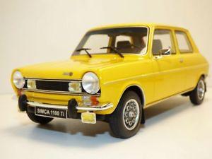【送料無料】模型車 モデルカー スポーツカー simca 1100 ti jaune 118simca 1100 ti jaune 118