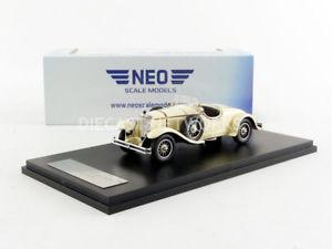 【送料無料】模型車 モデルカー スポーツカー ネオメルセデスneo 143 mercedes 24100 1924 43210