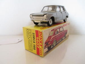 【送料無料】模型車 モデルカー スポーツカー フランスfrench dinky 1407 simca 1100 mib 9 en boite very nice lk