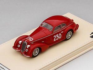 【送料無料】模型車 モデルカー スポーツカー アルファロメオミッレミリアtsm alfa romeo 8c 2900b lungo 230 1947 mille miglia winner 143 tsmce154312