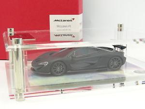 【送料無料】模型車 モデルカー スポーツカー スケールモデルマクラーレンマットtrue scale model tsm 143 mclaren p1 noire mat 200ex