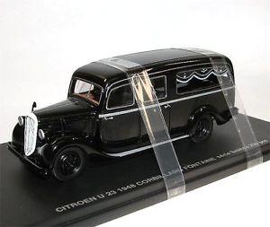 【送料無料】模型車 モデルカー スポーツカー シトロエンperfex 504, citroen u23 corbillard fontaine, hearse, leichenwagen, 1948, 143