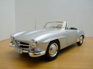 【送料無料】模型車 モデルカー スポーツカー メルセデスmercedes 190sl gris mtallis 118 w121