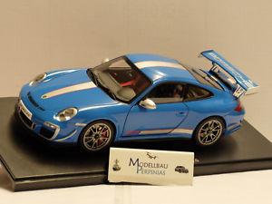 【送料無料】模型車 モデルカー スポーツカー ポルシェグアテマラルピーporsche 911 997 gt 3 rs 40 autoart 118