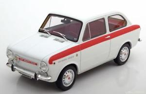 【送料無料】模型車 モデルカー スポーツカー フィアットアバルトホワイトレッド118 laudoracingmodels fiat abarth ot 1000 special 1964 whitered
