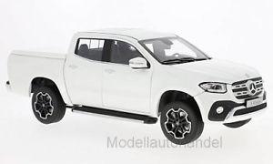 【送料無料】模型車 モデルカー スポーツカー メルセデスクラスメタリックmercedes xklasse 2017 metallicweiss  118 norev lt;lt;