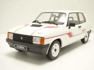 【送料無料】模型車 モデルカー スポーツカー ラリーブランtalbot samba rallye blanc 118