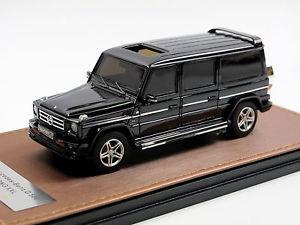 【送料無料】模型車 モデルカー スポーツカー メルセデスベンツモデルブラックglm amg mercedesbenz w463 gmodell xxl lang lwb schwarz 143