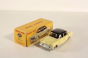 【送料無料】模型車 モデルカー スポーツカー ボックスミントdinky toys 24 z, simca versailles, mint in box       ab1777