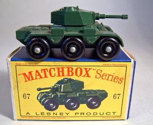 【送料無料】模型車 モデルカー スポーツカー ボックスマッチmatchbox rw 67a saladin armoured car in d box