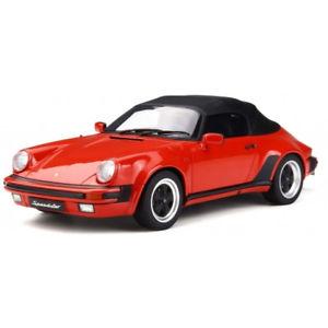 【送料無料】模型車 モデルカー スポーツカー ポルシェレッドグアテマラグアテマラporsche 911 32 speedster 1989 red 118 gt130 gt spirit