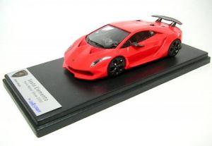 【送料無料】模型車 モデルカー スポーツカー ランボルギーニパリオレンジlamborghini sesto elementoparis 2010 orange fluo
