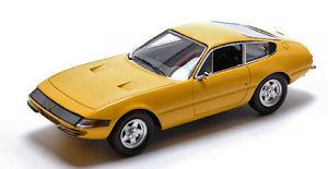 【送料無料】模型車 モデルカー スポーツカー フェラーリデイトナイエローモデルferrari 365 gtb4 daytona 1969 yellow 143 model redline