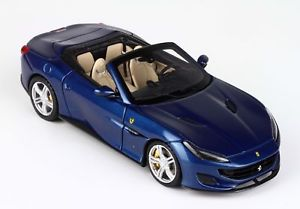 【送料無料】模型車 モデルカー スポーツカー フェラーリポルトフィーノブルアブダビferrari portofino blu abu dhabi 143 bbrc207d bbr