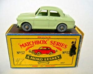 【送料無料】模型車 モデルカー スポーツカー マッチモコボックスmatchbox rw 57a wolseley neuwertig in moko box