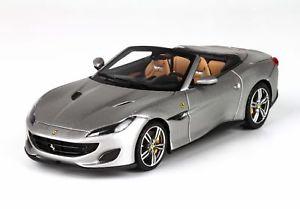【送料無料】模型車 モデルカー スポーツカー フェラーリポルトフィーノferrari portofino griogio opaco 143 bbrc207f bbr