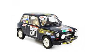 【送料無料】模型車 モデルカー スポーツカー アバルトラリー#autobianchi a112 abarth rallye trabucchi 1977 201 tabaton oli laudoracing 118
