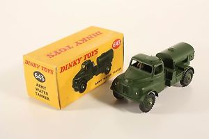【送料無料】模型車 モデルカー スポーツカー タンカーボックスミントdinky toys 643, army water tanker, mint in box          ab2008