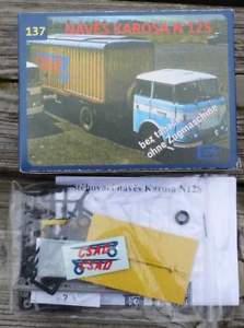 【送料無料】模型車 モデルカー スポーツカー containerauflieger karosa n12s  187 bausatz