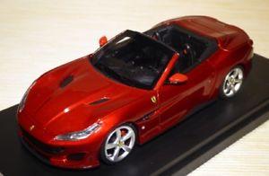 【送料無料】模型車 モデルカー スポーツカー フェラーリロッソポルトフィーノポルトフィーノフランコフォルテferrari portofino aperta francoforte 2017 rosso portofino looksmart ls480sa