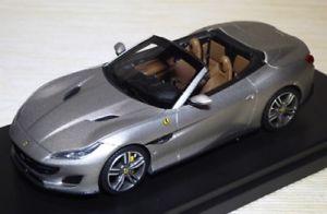 【送料無料】模型車 モデルカー スポーツカー フェラーリフランコフォルテポルトフィーノferrari portofino aperta francoforte 2017 alluminio opaco looksmart ls480sb