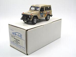 【送料無料】模型車 モデルカー スポーツカー メルセデスグラスリットパリダカールラリー#キットgaffe 9805 mercedes 280 g glasurit rallye parisdakar 1982 258 143 kit built