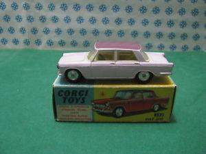 【送料無料】模型車 モデルカー スポーツカー ビンテージフィアットビココーギーヌオーヴァミントボックスvintage  fiat 2100 bicolore   corgi toys 232  nuova  mint box