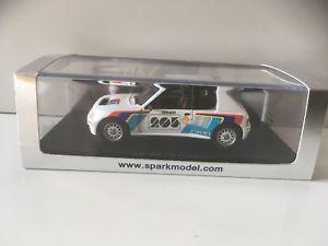 【送料無料】模型車 モデルカー スポーツカー プジョープレゼンテーションスパークpeugeot 205 prsentation spark 143