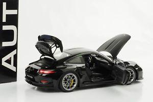 【送料無料】模型車 モデルカー スポーツカー ブラックポルシェグアテマラporsche 911 991 gt3 rs schwarz 2016 118 autoart 78164 neu ovp